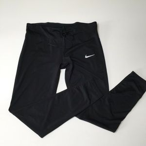 Nike Leggings Dri Fit Size Extra Large Black Yoga
